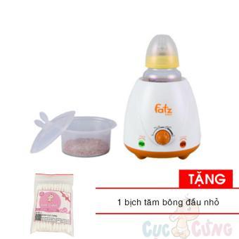 Máy hâm sữa cao cấp Fatzbaby - FB3007SL Tặng 1 bịch tăm bông đầu nhỏ cho bé