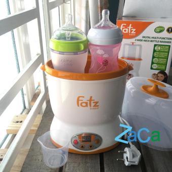Máy hâm sữa và tiệt trùng 2 bình cổ rộng Fatzbaby FB3018SL bảo hành 1 năm