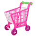 Mini Shopping Cart with Full Grocery Food Toy Playset for Kids Toys(Intl)