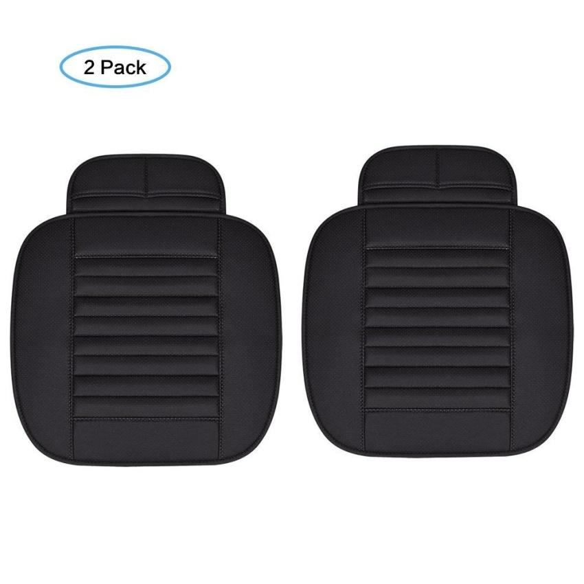 moob 2pc car interior seat cover cushion pu leather breathable gi 362 000. Black Bedroom Furniture Sets. Home Design Ideas