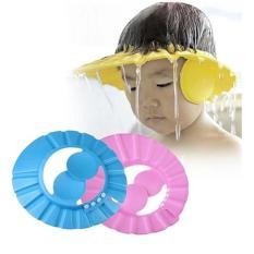 Giá Sốc Mũ gội đầu chăn nước có vành tai cho bé (Xanh)