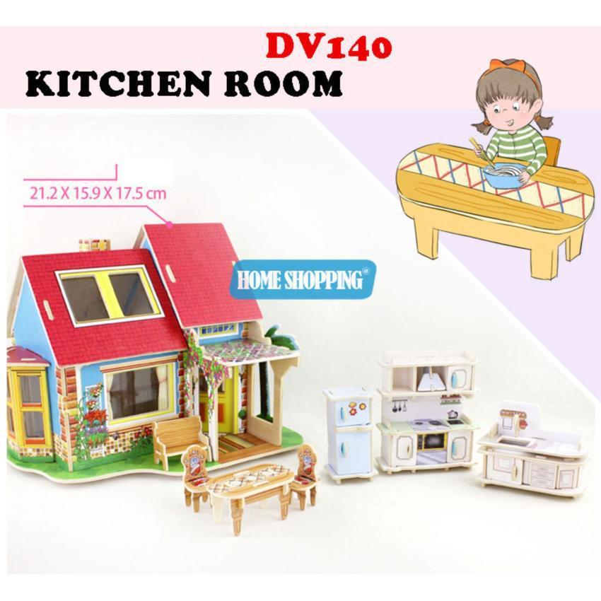 Hình ảnh Nhà búp bê- Nhà bếp