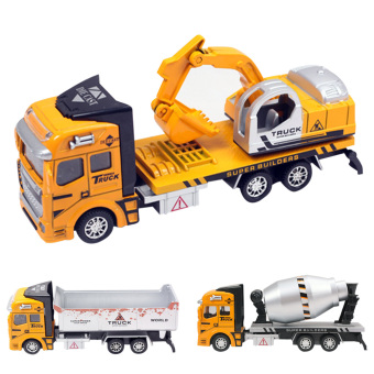 Pull Back Construction Car Toy for Children Gift - intl