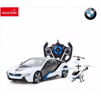 Rastar Licensed 1:14 scale BMW I8 remote control car interactionhelicopter have fun with kids toys for children 49600-14 - intl - 8705984 , RA868TBAA4A0UBVNAMZ-7797194 , 224_RA868TBAA4A0UBVNAMZ-7797194 , 2615000 , Rastar-Licensed-114-scale-BMW-I8-remote-control-car-interactionhelicopter-have-fun-with-kids-toys-for-children-49600-14-intl-224_RA868TBAA4A0UBVNAMZ-7797194 , lazada.