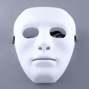 Scary Ghosts Halloween Masquerade Adult Mime Party Cosplay CostumeMask