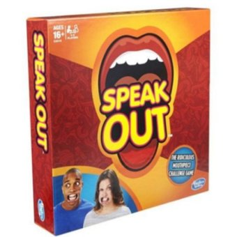 Speak Out Mouthpiece Board Game Party Challenge Game 2016 USFriends Game - intl