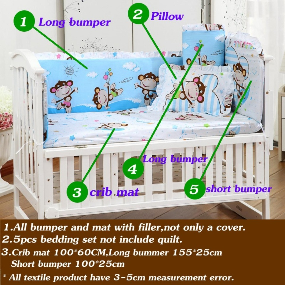 ... Special Promotion Maxis-One-Club-Old 100X58Cm 5Pcs Set Newborn Baby Bedding Set ...
