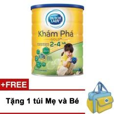 Sữa bột Dutch Lady Khám Phá GOLD 1.5kg + Tặng 1 túi mẹ và bé
