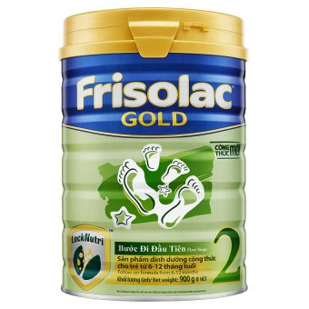 Sữa bột Frisolac Gold 2 900g
