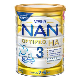 Sữa bột Nestle NAN OPTIPRO HA 3 800gr