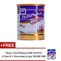 Sữa bột Pediasure B/A Hương Vani 1.6KG + Tặng 3 chai Pediasure BA 3+237ml (hương ngẫu nhiên) trị giá 105.000 VND