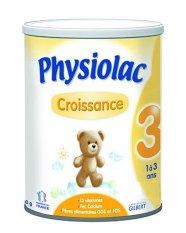 Sữa bột Physiolac Croissance 3ER 900g