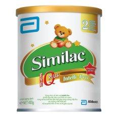 Sữa bột Similac IQ 2 Hương Vani 400G