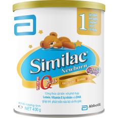 Sữa bột Similac Newborn IQ 400g - new