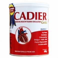 Sữa Cadier Gold cho người tim mạch tiểu đường ( hộp 400g)