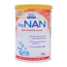 Sữa dành cho trẻ thiếu tháng hoặc nhẹ cân Nestle Pre Nan 400g