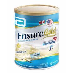 Sữa Ensure Gold hương vani ít ngọt 850g
