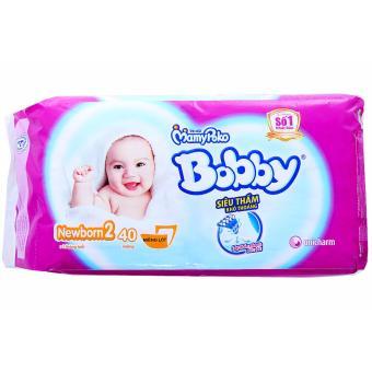 Tã lót Newborn Bobby 40M