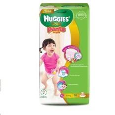 Tã quần cao cấp Huggies Gold Bé gái XL38