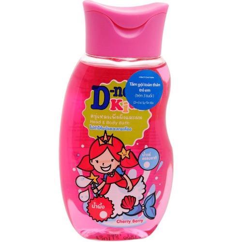 Tắm gội toàn thân D-nee kids 200ml (Hồng)