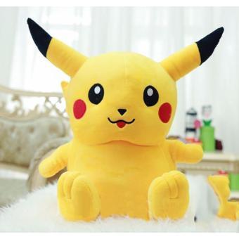 Thú bông Pikachu mập nhồi bông size 75cm