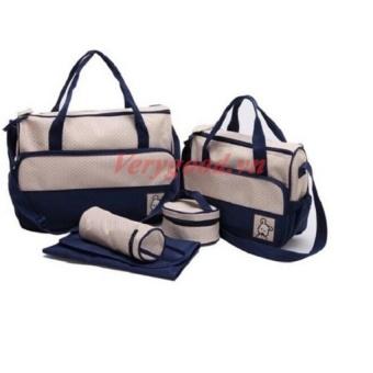 Túi đựng đồ cho mẹ và bé 5 chi tiết (Xanh navy) - 8352343 , NO007TBAA88RNAVNAMZ-15854986 , 224_NO007TBAA88RNAVNAMZ-15854986 , 200000 , Tui-dung-do-cho-me-va-be-5-chi-tiet-Xanh-navy-224_NO007TBAA88RNAVNAMZ-15854986 , lazada.vn , Túi đựng đồ cho mẹ và bé 5 chi tiết (Xanh navy)