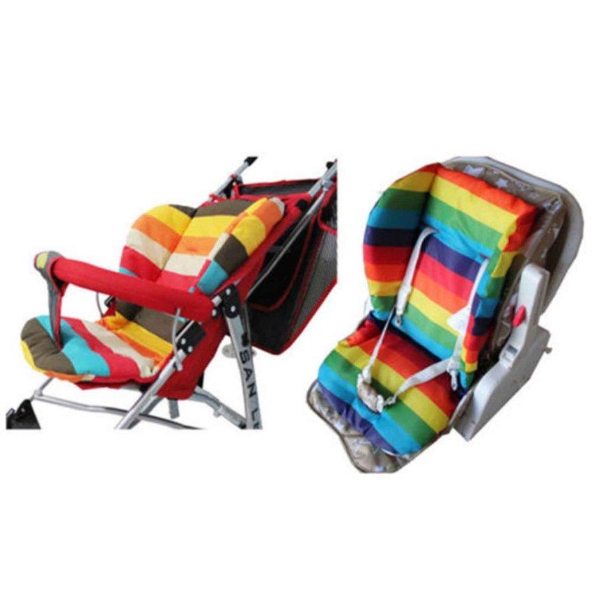 vanker 3x new baby infant stroller cushion colors striped liner gi 214 000. Black Bedroom Furniture Sets. Home Design Ideas