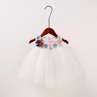 Váy đầm công chúa in họa tiết hoa bồ công anh cho bé gái xinh đẹp giá rẻ - 2