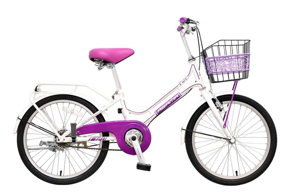 Xe đạp trẻ em Asama CLD PU20 (Trắng)