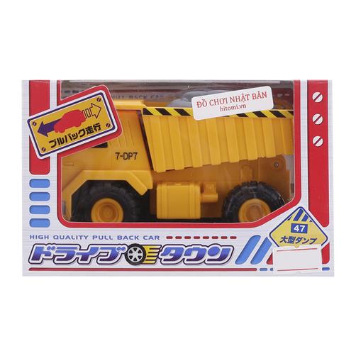 Hình ảnh Xe ô tô chạy đà 47 Offroad Dump nhập khẩu Nhật Bản 13 cm (tặng 1 xe tomica)