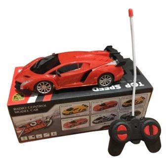 Xe ô tô điều khiển từ xa lambogini cho bé (Đỏ) NNN