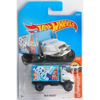 Xe tải mô hình tỉ lệ 1:64 Hot Wheels 2017 Baja Hauler Hw Hot Trucks179/365 ( Màu Xanh )