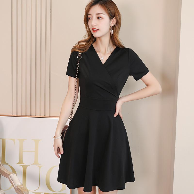 b81da7f899d Caidaifei 2019 Spring And Summer New Style Korean Style Fashion Large Size  Versatile Solid Color Trend