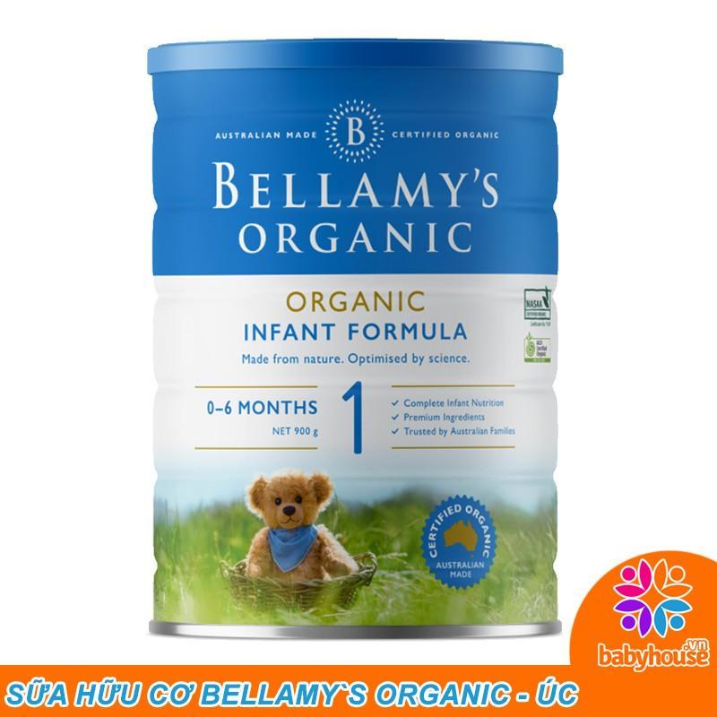 Sữa Bellamy Organic số 1 hữu cơ Số 900g:1727