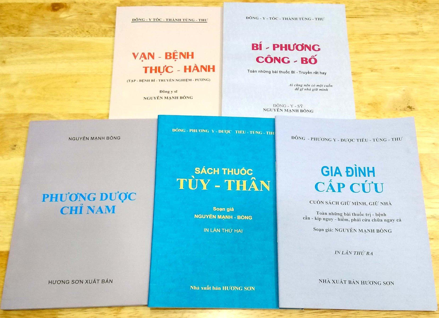 Bộ Sách Của Danh Y Nguyễn Mạnh Bổng