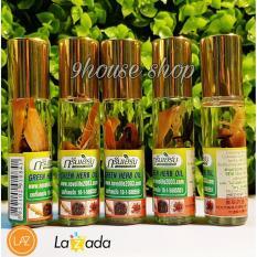 5 Dầu Sâm Ginseng Green Herb Oil Thái Lan (nhập khẩu)