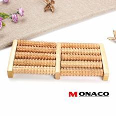 Nơi Bán Bàn Lăn Massage Chân Gỗ 5 Hàng Monaco