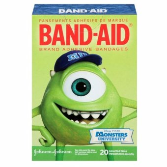 Băng keo cá nhân 20 miếng BAND-AID Disney Monsters University