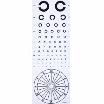 Bảng kiểm tra thị lực khoảng cách 5m ISO-8023 GL-438
