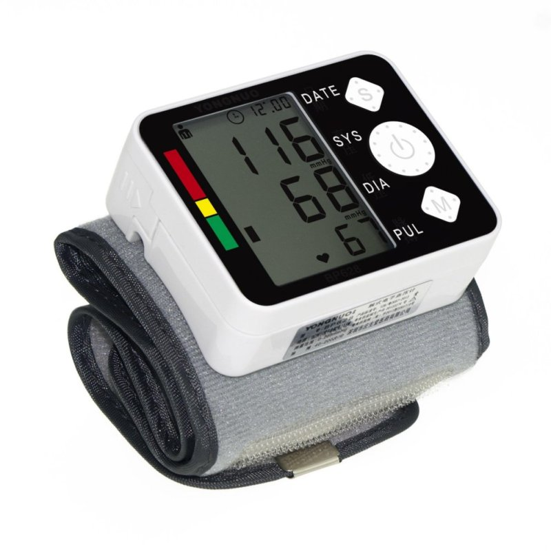 Nơi bán Bệnh tăng huyết áp ở người cao tuổi - Máy Đo Huyết Áp Cổ Tay cao cấp H268, giá rẻ nhất, sử dụng đơn giản -  Bảo Hành Uy Tín TECH-ONE