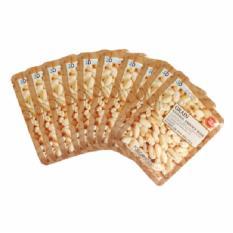 Bộ 10 gói mặt nạ chiết xuất đậu trắng giúp da nhờn sạch dầu 3D Foodaholic Grain Natural Essence Mask 23ml x10