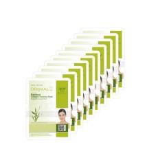 Bộ 10 gói Mặt Nạ tinh chất Collagen và Tre xanh Dermal Bamboo Collagen Essence Mask 23g x10