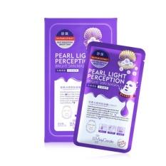 Bộ 10 mặt nạ HA dưỡng trắng, làm mờ vết thâm Pearl Light Perception - Zo Beauty