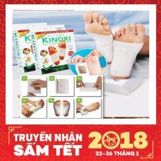 Bộ 10 miếng dán giải độc massage chân Kinoki cao cấp ( Có clip ) - Huy Tưởng