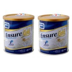 Bộ 2 sữa bột Ensure Gold 400g
