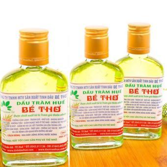 Bộ 3 chai dầu tràm Bé Thơ nguyên chất