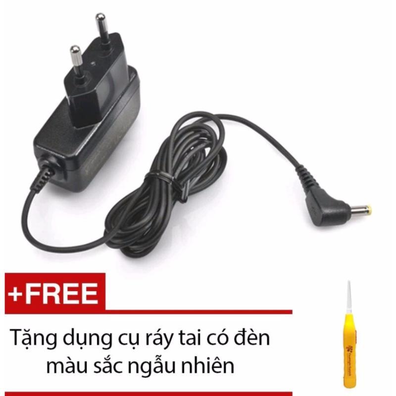 Nơi bán Bộ đổi điện Omron AC Adapter + Tặng dụng cụ ráy tai có đèn màu sắc ngẫu nhiên
