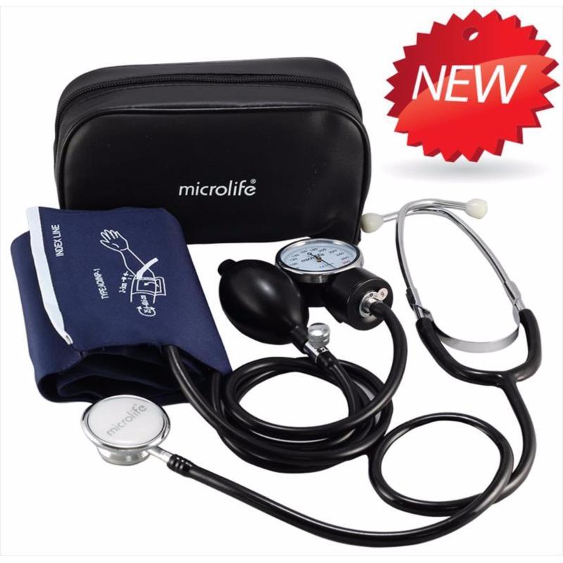 Nơi bán Bộ máy đo huyết áp bắp tay và tai nghe Microlife AG1-2