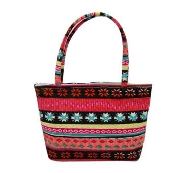 BPFAIR Women Portable Makeup Cosmetic Wash Case colorful Bag Handbag - intl
