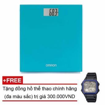 Cân sức khoẻ điện tử Omron HN-289 + Tặng đồng hồ thể thao